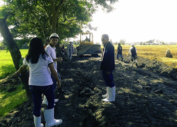 2014 GPPPI Plant Site Development - Civil works for the GPPPI 35 MW biomass power plant at Barangay Cabalabaguan, Mina, Iloilo, Philippines.