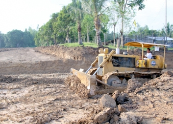 GPPPI Plant Site Development - Civil Works commence at Barangay Cabalabaguan, Mina, Iloilo, Philippines for the GPPPI 35 MW biomass power plant.