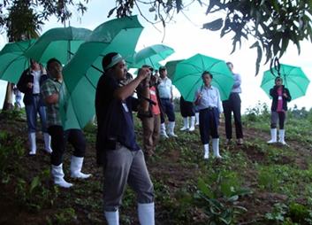 Banks visit to GPPPI site - Green Power Panay Philippines Inc. 17.5 MW Multi-fuel Biomass Power Plant site was visited by several banks officers.
